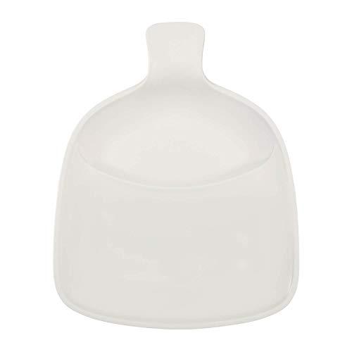 Villeroy & Boch Artesano Original Grillteller, 37 x 30,5 cm, Premium Porzellan, Weiß