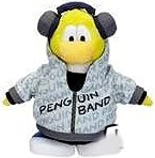 Club Penguin Save $8.00 - Value Deal on Super Rare - Highly Collectible Yellow Disco DJ Band Member Plush - Value Deal = Just The Rare Band Member Without Coin or Code!