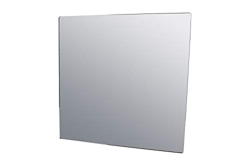 """Marketing Holders 24"""" x 24"""" Square Mirror Sheet Camping Daycare Gym Restrooms Speech Therapy Jewelry Makeup Durable Chicken Coop Wall (1, 24"""" x 24"""")"""