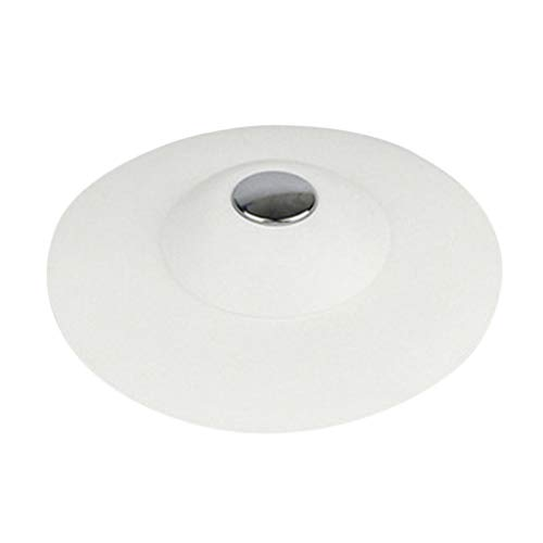 Fenteer Dusche Bodenablauf Duschablauf Abflussrinne Badablauf Küche Abfluss, viele Farbe Auswahl - Weiß
