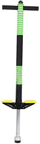Pogo Stick Höhe 95cm Hüpfstab Sprungstange Jumper für Kinder von 7–12 Jahre Jungen und Mädchen (Grün)