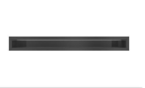 Rejilla LUFT 6X60cm, negra