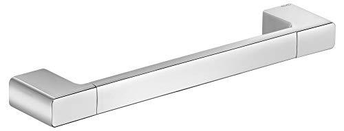 KEUCO Haltegriff, hochglanz-verchromt, 34,2 cm lang, Belastberkeit 115 kg, für Badewanne und Dusche, Wandmontage, auch als Wannengriff, Moll