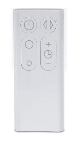 Dyson Remote control Part no. 965824-01 Compatible with Dyson Cool 10 inch desk fan (White/Silver), Dyson Cool 10 inch desk fan (White/Silver), Dyson Cool tower fan (White/Silver), Dyson AM06 12 in