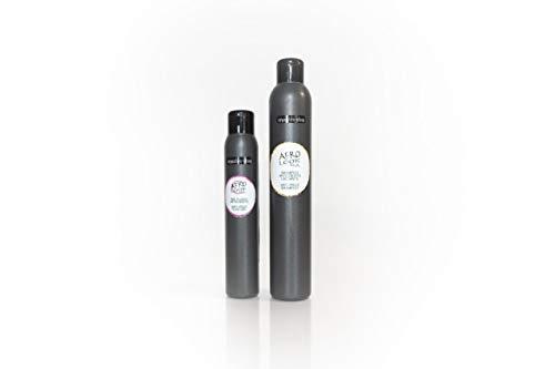 Organics-shop set shampoing et fluide anti Frisottis à l'huile de ricin spécial cheveux crépus/afro et frisés non testé sur les animaux