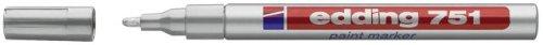 Edding 751 Lackmarker silber 1-2mm Rundspitze