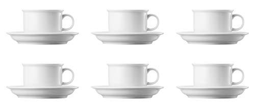 Thomas Rosenthal Trend Weiss Kaffeetassen Set 12tlg.