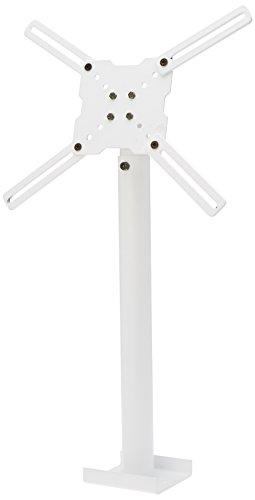 Meliconi Slimstyle 400CE Supporto da Soffitto Estensibile per TV da 14'-65' e Proiettori, colore bianco