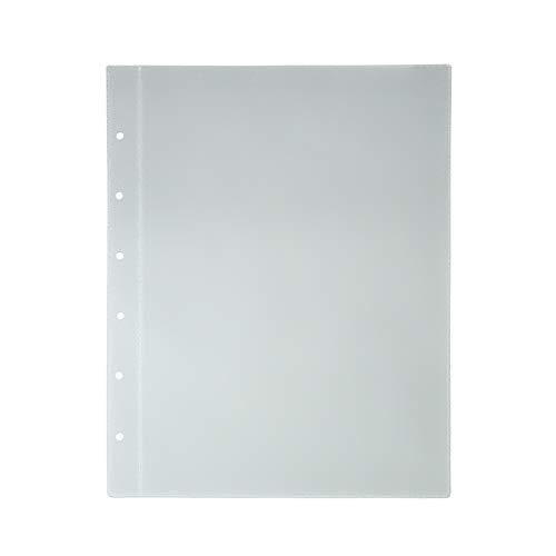 15x Stammbuchhüllen DIN A5 Transparente Klarsichthüllen mit 6-Fach Lochung für Stammbücher