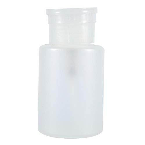 Bouteille à pompe à ongles, Asixx 150ML Bouteille vide pour manucure à la mode, pour distributeur de pompe à vernis à ongles