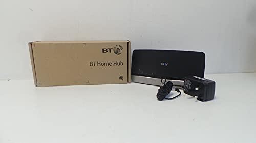 BT BT Home HUB 4 - Adaptador de comunicación por línea eléctrica, negro