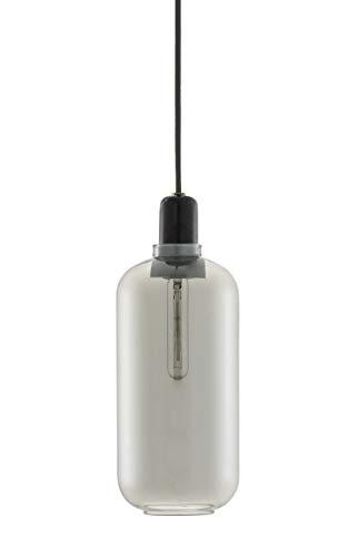 Normann Amp Pendant Lamp Smoke Black - Large