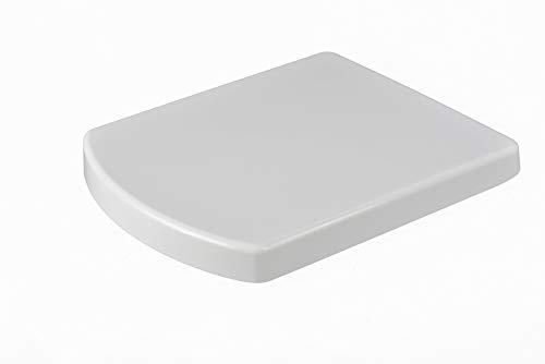 Grünblatt WC Sitz 515506 passend zu Roca Hall, Absenkautomatik und abnehmbar zur Reinigung, Hochwertiges Material Duroplast, weiß