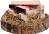 BELI-BECO Lagerfeuer Feuerstelle für Krippe Weihnachtskrippe Krippenstall Krippenzubehör mit Beleuchtung 3,5 V