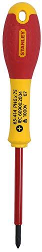 STANLEY 0-65-414 - Destornillador aislado vde 1000v FatMax phillips ph0 x 75 mm