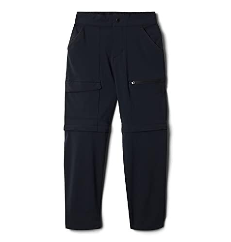 Columbia Frontrange Convertible Pant Pantalones para Senderismo, Negro, M para Niños