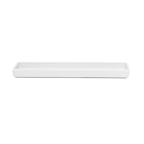 DW Ablageschale - Porzellan weiß - 27,5 x 8,1 cm, h 2,2 cm