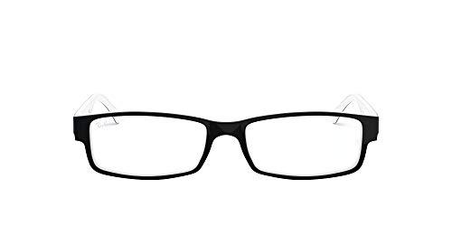 Ray Ban Optical Occhiali Da Sole RX5114 Nero Su Trasparente, 52mm