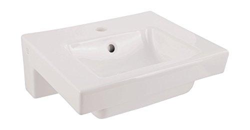 Gustavsberg (Villeroy und Boch) Handwaschbecken Artic, Waschtisch, Waschbecken, 45 x 37 cm, Weiß, 02639 0