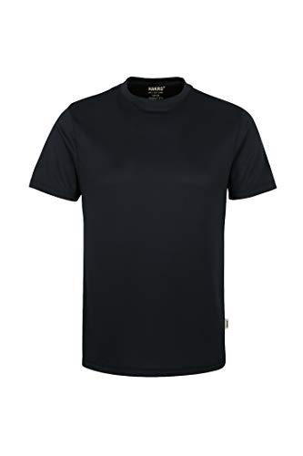 Hakro T-SHIRT COOLMAX® # 287 UNISEX (XL, schwarz)
