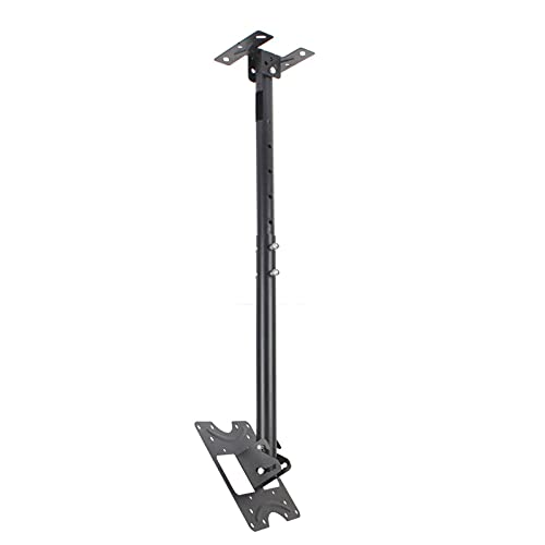 N/Z Home Equipment Ceiling TV Wall Mount Fits Suitable for 20 32in TV Adjustable Suspended Bracket with Tilt and Rotation Angle MAX VESA 200x200mm Save Space Black