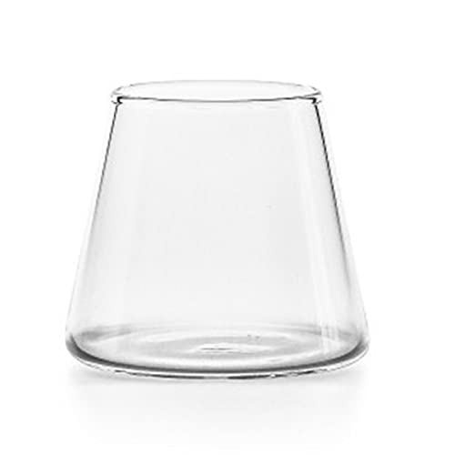 ALMAK Taza de café simple creativa multiusos resistente al calor taza de vidrio suministros de fiesta prácticos para el hogar Bar
