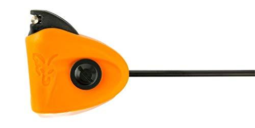 Fox Black Label Mini Swingers - Karpfenbissanzeiger Zum Angeln auf Karpfen, Bissanzeiger Zum Karpfenangeln & Raubfischangeln, Farbe:Orange