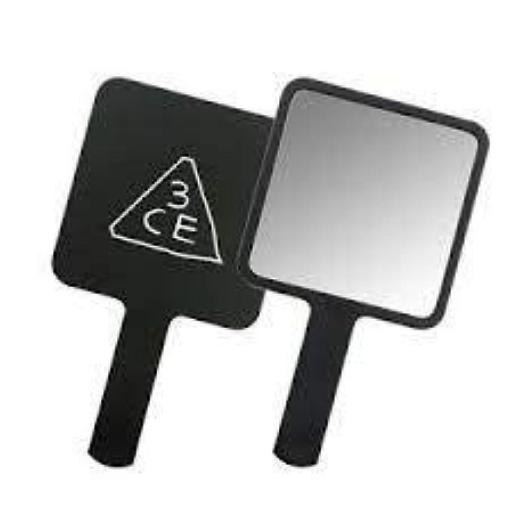 ファイバ誤解を招く授業料スリーコンセプトアイズ 3CE ミニ ハンド ミラー #BLACK