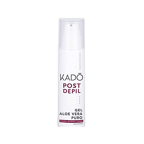 Kado Gel Hidratante Postdepilación Aloe Vera Puro - 200 ml.