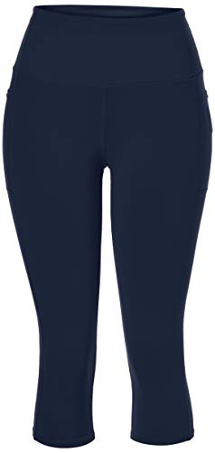 Skechers Women's Walk Go Flex High Waisted Capri Yoga Leggings, Blue Iris, L