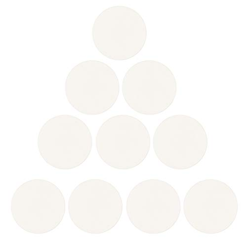joyMerit 10 Piezas de Cristal de Reloj de Cúpula Transparente de 20-23 Mm de Diámetro de Cristal Mineral - 22mm