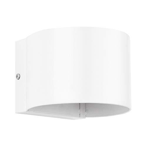[lux.pro] Wandlamp Malaga - wit