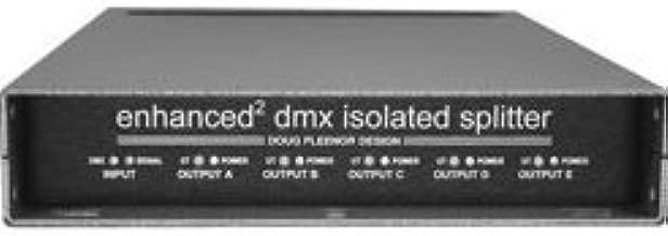 Doug Fleenor 125EE-5 DMX512 Splitter One input, five outputs, enhanced, 5 pin XLR