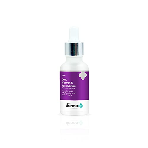 The Derma Co 20% Vitamin C Face Serum for Men and Women for Skin Radiance - 20 ml(dermaco)