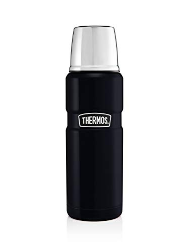 Thermos Stainless King Flask, Midnight Blue, 470 ml
