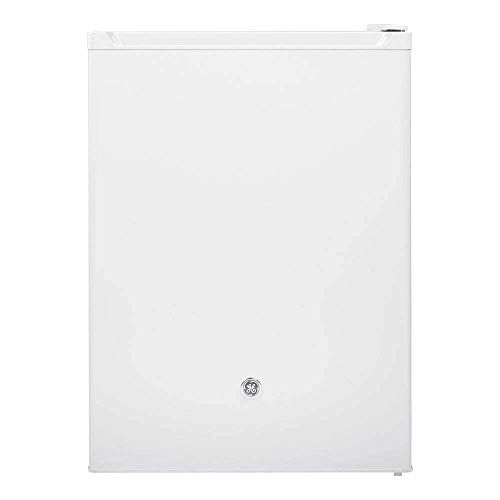 GE Appliances 5.6 Cu. Ft. Capacity Freestanding Compact Refrigerator, White (Renewed)