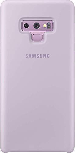 Samsung - Funda de silicona para Galaxy Note 9, color púrpura (lavanda)- Version española