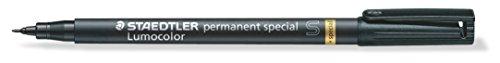 Staedtler 319 S-9 Feinschreiber Universalstift Lumocolor permanent special, schwarz, 0,4 mm