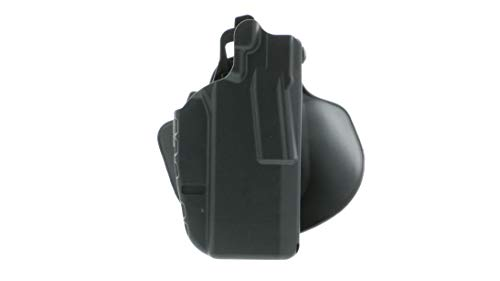 Safariland 7378, ALS Concealment Paddle and Belt Loop Combo Holster, Fits: H&K VP9, Black - STX Plain, Right Hand