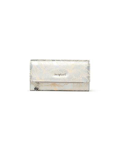 Desigual Mone_Akela Rocio - Portafoglio da donna, colore: Argento
