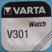 VARTA pILES bOUTON 1 pièce - V301