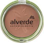 alverde NATURKOSMETIK Bronzer Mattifying Bronzing Powder, 1 x 9 g