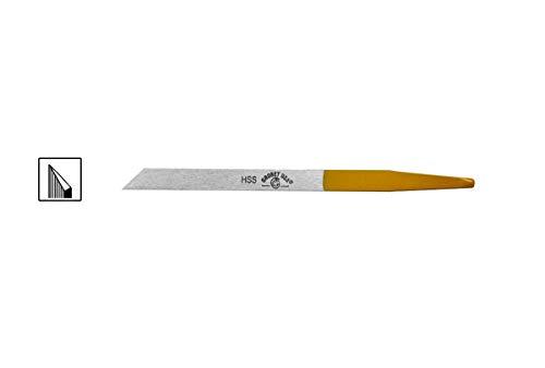 GROBET スジ彫り 洋彫りタガネ 彫刻刀 ナイフ HSS (#1 (2.0mm))
