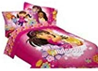 Amazon Com Dora And Friends Twin Comforter And Sheet Set Home Kitchen