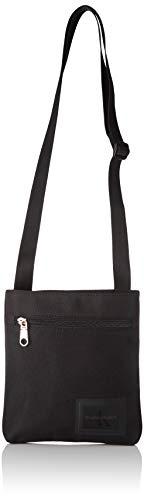 Calvin Klein - Ckj Sport Essentials Microflatpk, Shoppers y bolsos de hombro Hombre, Negro (Black), 1x1x1 cm (W x H L)