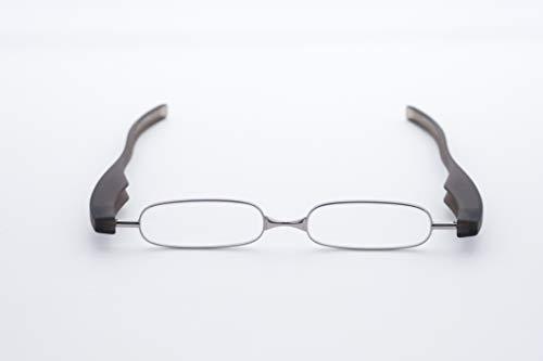 老眼鏡 シニアグラス ポッドリーダースマート Podreader smart 全10色(限定2色) 男性用 女性用(グレイ、1.0)