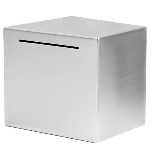 WANZSC Caja de ahorros segura caja de ahorros grande hecha caja fuerte dinero dinero dinero dinero dinero dinero banco para niños solo puede ahorrar la hucha que no se puede tomar