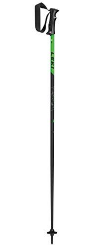 LEKI Sentinel Skistock Skistöcke für Erwachsene - 1 Paar - Collection 2020 (schwarz-Neongruen-Weiss, 125)