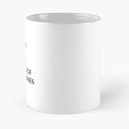 Tea of My Funny Blood Coffee Enemies The Best Taza de café de cerámica blanca de 315 ml