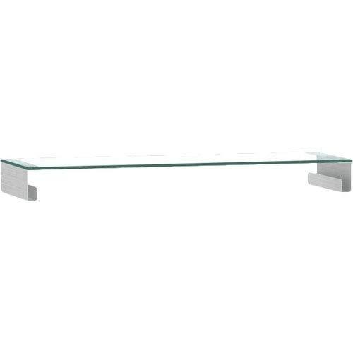 hochglanz // schwarz 200 x 41,5 x 59 cm E1-Spanplatten Jahnke TL 6203 HG-SW T.1-2 TV-Lowboard melaminharzbeschichtet ESG-Sicherheitsglas Aluminium eloxiert Metall pulverbeschichtet